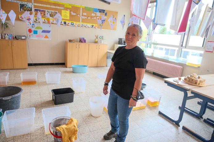 waterschade in Vrije Basisschool Sint-Jozef
