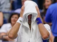 Djokovic barst al tijdens verloren US Open-finale in tranen uit: nog niet de grootste aller tijden
