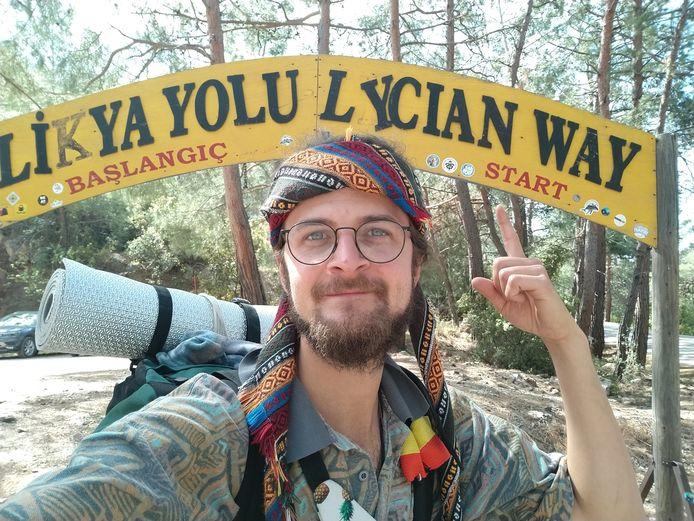Bram Vanhove (24) ruilde intussen één jaar geleden Diepenbeek in voor zijn droomreis naar India.