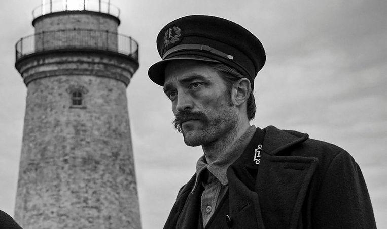 Robert Pattinson in 'The Lighthouse' Beeld