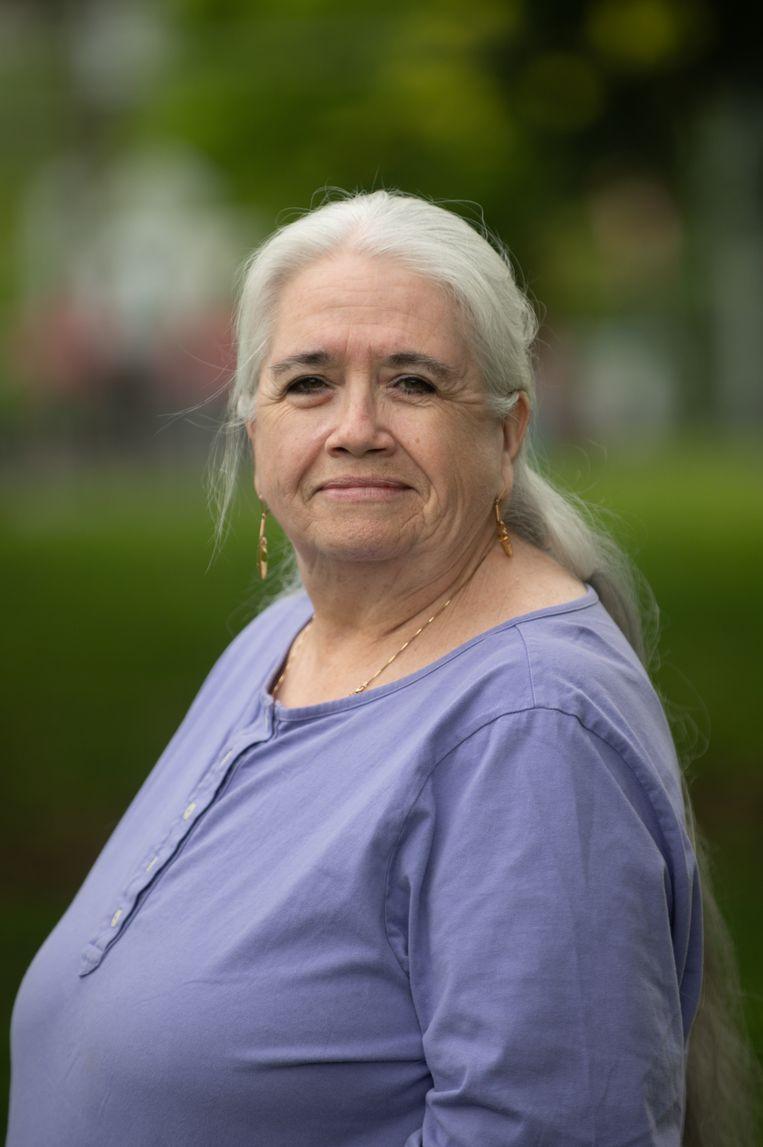 Michelle Good, activist, advocaat en romanschrijver.  Beeld Candice Camille