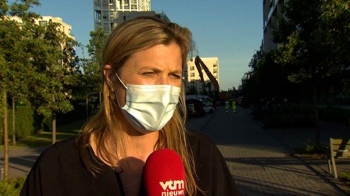La ministre de l'Intérieur Annelies Verlinden