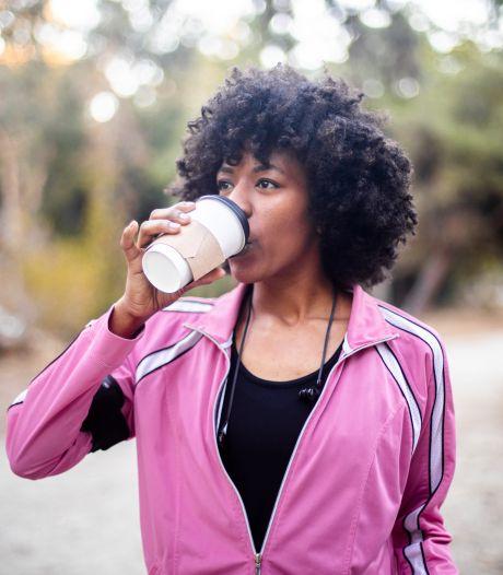 Dit kan het drinken van een kop koffie voor je doen als je flink gaat sporten