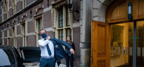 Sinds de coronacrisis is er meer beveiliging op en rond het Binnenhof