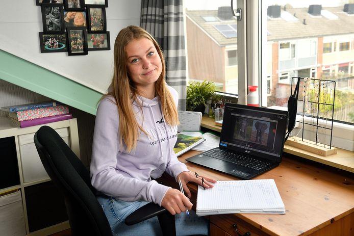 Sofie de Ronde heeft biologie bijles van bijles student Heleen