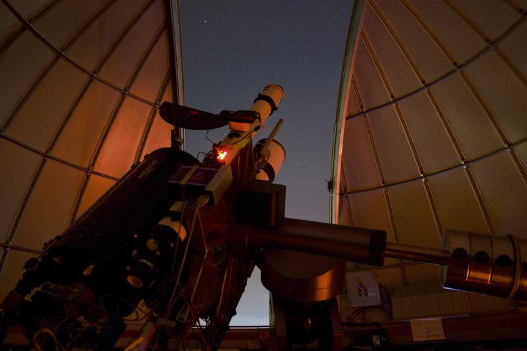 Uitzicht vanaf de sterrenkoepel Beeld Esther Hanko