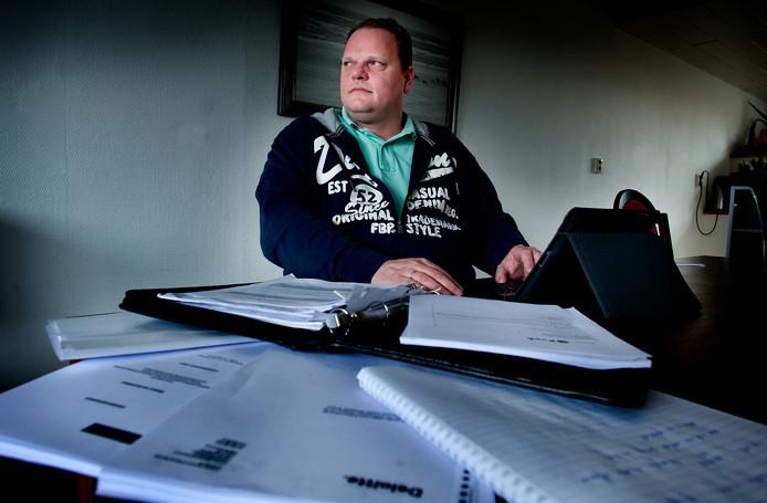 Kandidaat-voorzitter PVDA in de Hoeksche Waard Jan Maarten Dank.