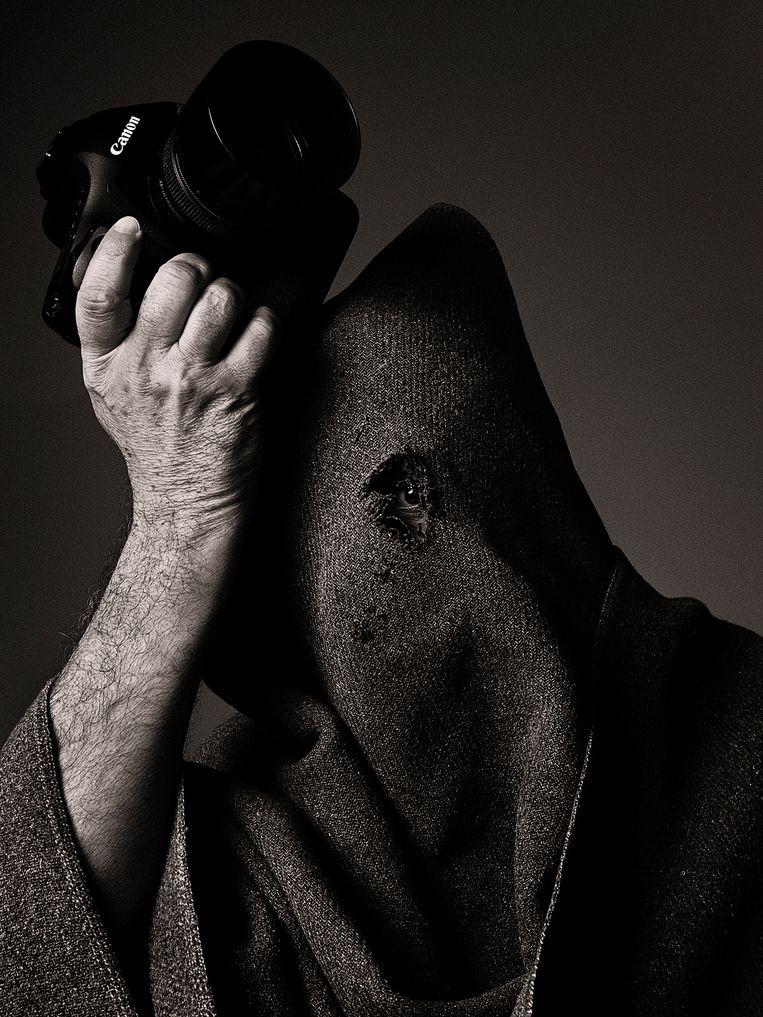 Dirk Lambrechts, zelfportret. Beeld Dirk Lambrechts