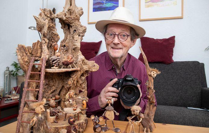 Renk Ruiter maakt 'boskneuters'.