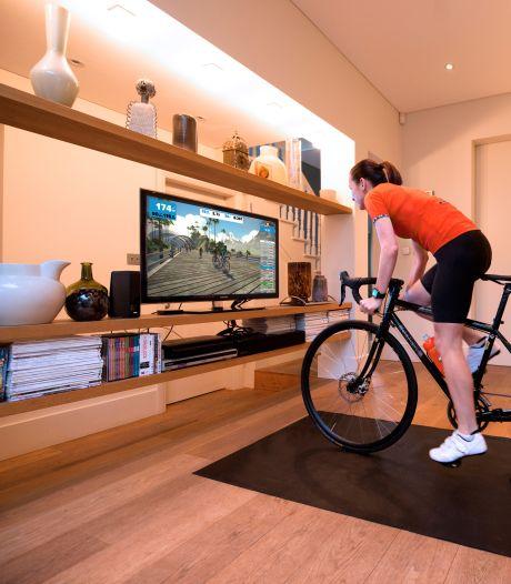 In de schuur, de huiskamer of op zolder: met deze digitale hulpjes houd je jezelf in beweging