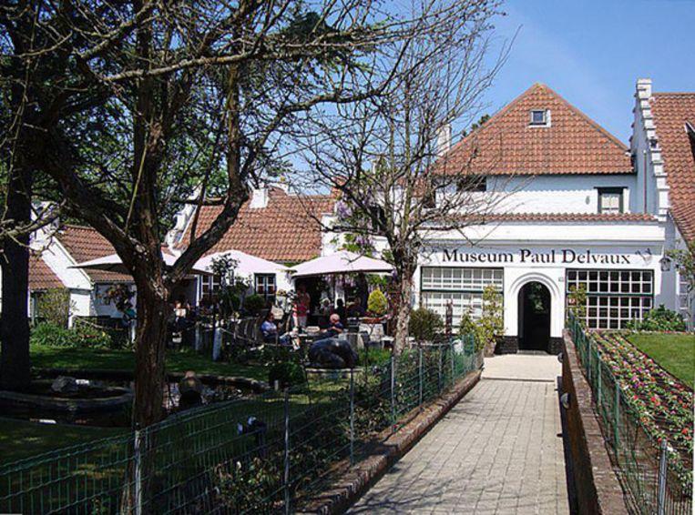 Paul Delvauxmuseum Beeld Kos