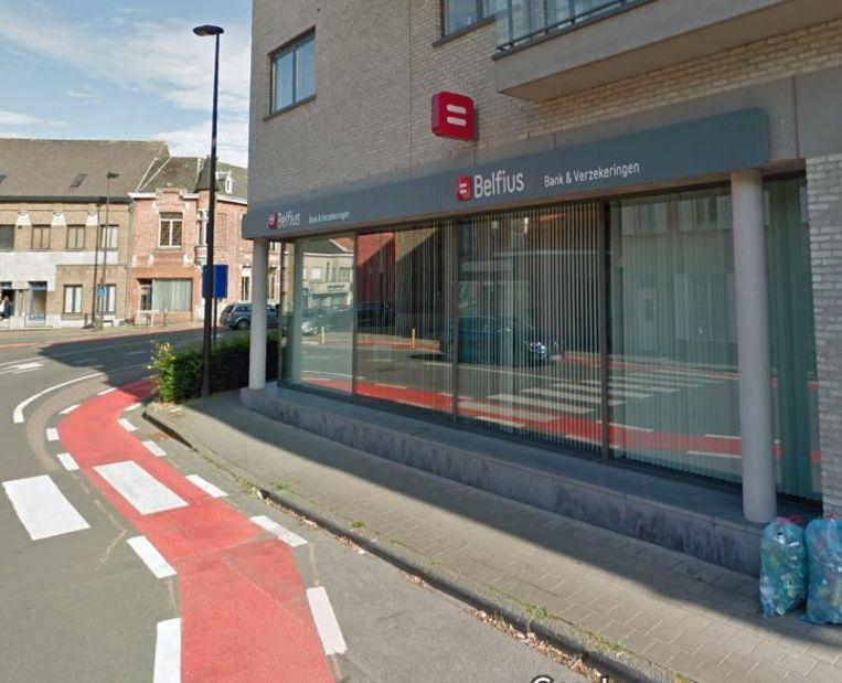 Het kantoor in Pittem verhuist straks naar dit Belfiuskantoor in de Deken Darraslaan in Tielt
