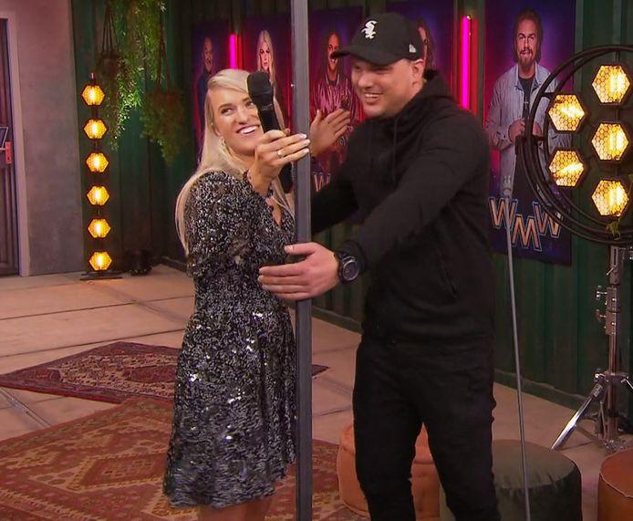 Britt maakte Stephan en zijn vriendin Cheyenne dolgelukkig.