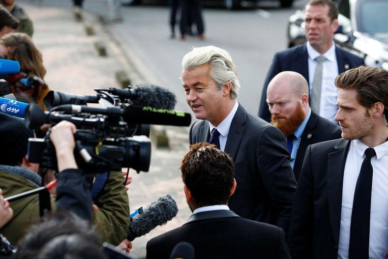 Geert Wilders. Beeld REUTERS