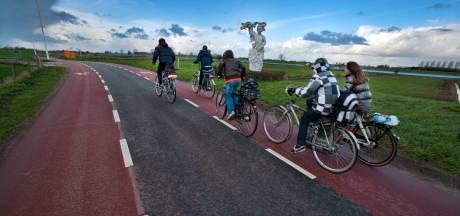 Rode fietsstroken op onveilige wegen in buitengebied Bronckhorst