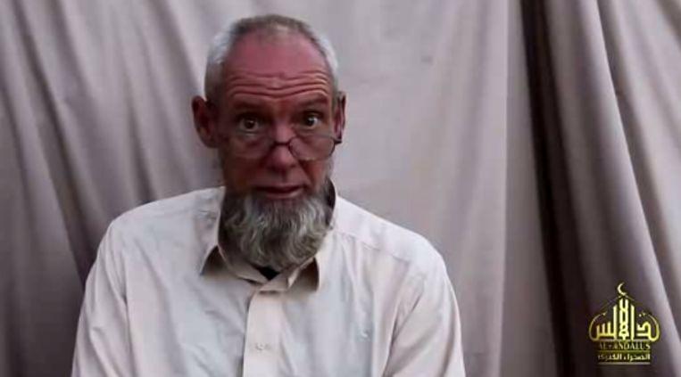 Still uit de Al Qaida-video met Rijke. Beeld Screenshot
