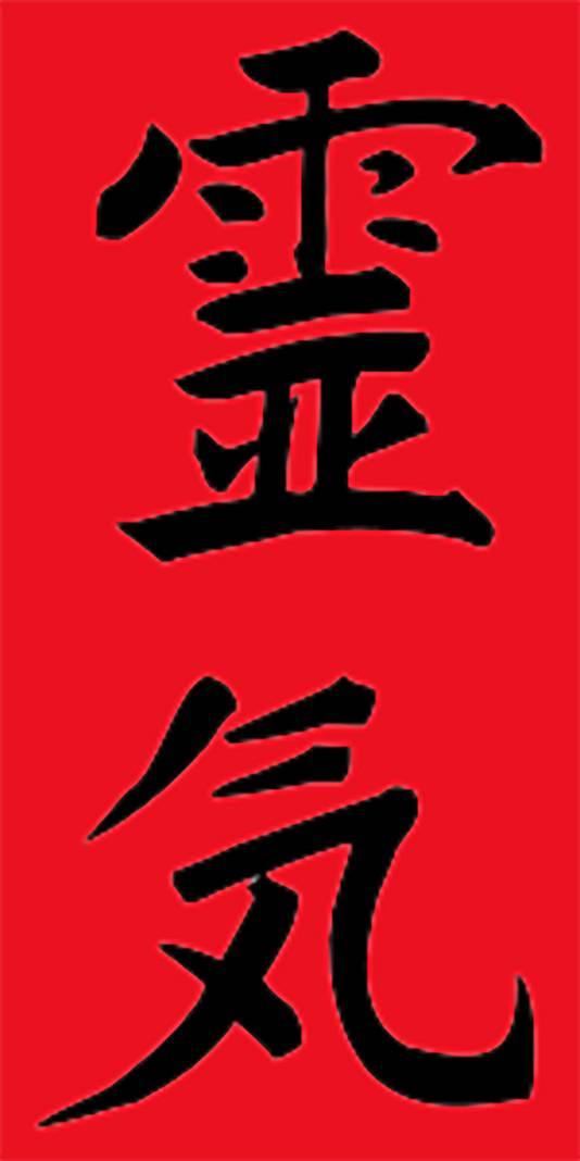 De term reiki bestaat uit twee Japanse karakters (kanji), te weten 'rei' (geest of ziel) en 'ki' (energie of levenskracht).