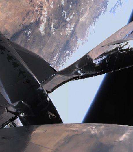 Virgin Galactic effectue son premier vol spatial habité