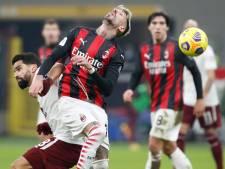AC Milan na strafschoppen door in Italiaanse beker