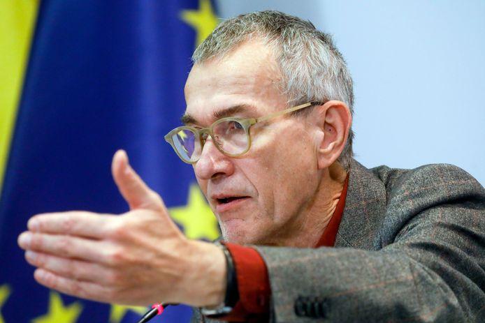 Le ministre des Affaires sociales Frank Vandenbroucke (sp.a).