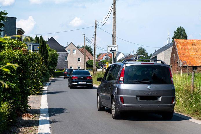 De Pietingbaan aan de grens met Wommelgem (archieffoto).