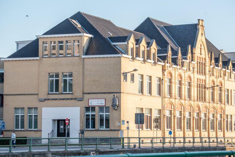 Woonzorgcentrum Heilig Hart aan de Marlboroughlaan in Oudenaarde.