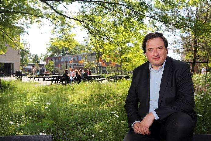 Dr. Jorrit Snijder is sinds oktober de nieuwe voorzitter van de Raad van Bestuur van BUas in Breda.