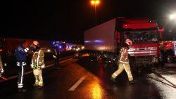 Ochtendspits zwaar verstoord na ongeval met vrachtwagen op E40 in Erpe-Mere