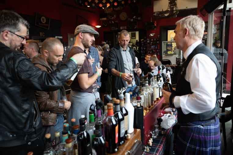 Whiskyfestival in Beringen.
