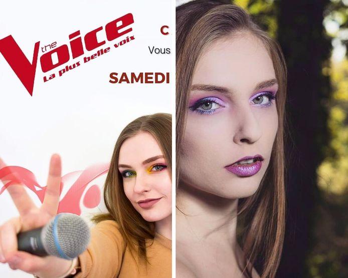 Ce samedi, la Montoise Camelione va tenter de se qualifier lors des auditions à l'aveugle de «The Voice» sur TF1.