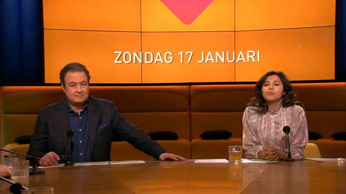 Sven Kockelmann en Talitha Muusse maakten hun debuut bij Op1.