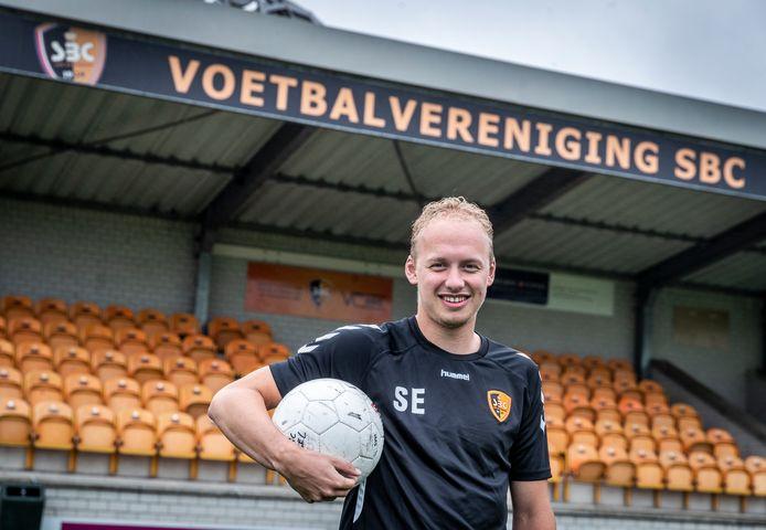 Sander Egmond is terug bij SBC.