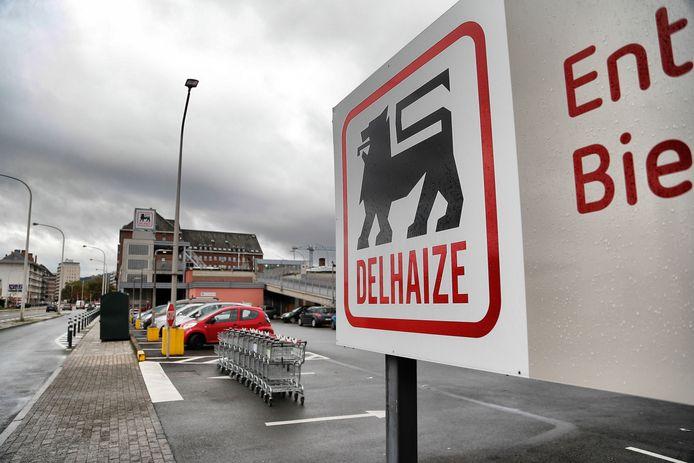 Un supermarché Delhaize à Jambes.