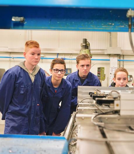 Cambium College en bedrijfsleven in hun nopjes met 1,4 miljoen subsidie voor techniek