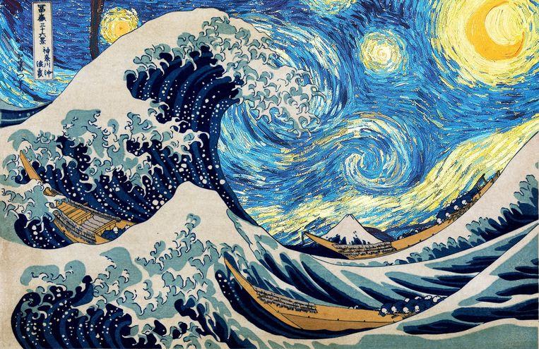Hokusai en Vincent van Goghs Beeld RV