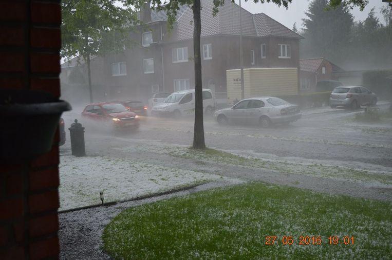 Kempenstraat in Diepenbeek. Beeld Jimmy De Schrijver