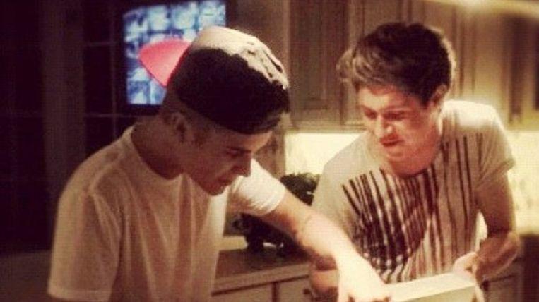 Niall Horan wil samenwerken met Justin Bieber