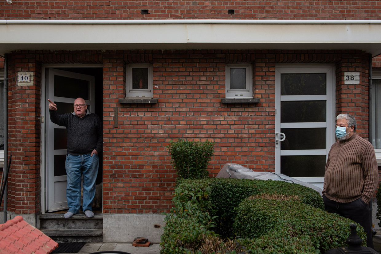 Albert* woonde 48 jaar in dit huis. Beeld Wouter Maeckelberghe