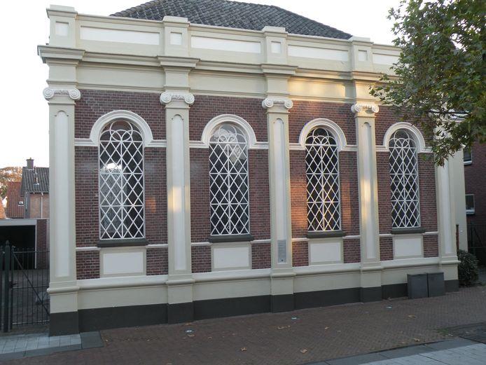 De synagoge in Borculo.