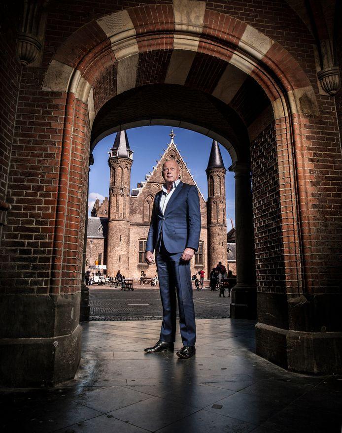 Frits Wester op het Binnenhof