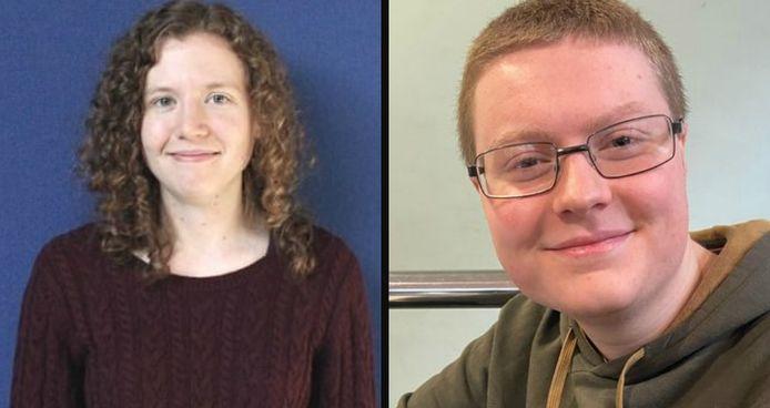 Links: Jennifer Wright. Rechts: Alex Greer.