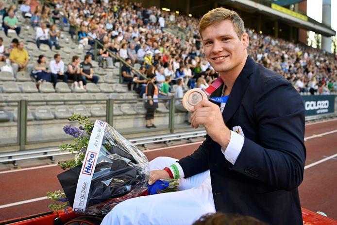 Matthias Casse, médaillé de bronze en -81kg (judo).