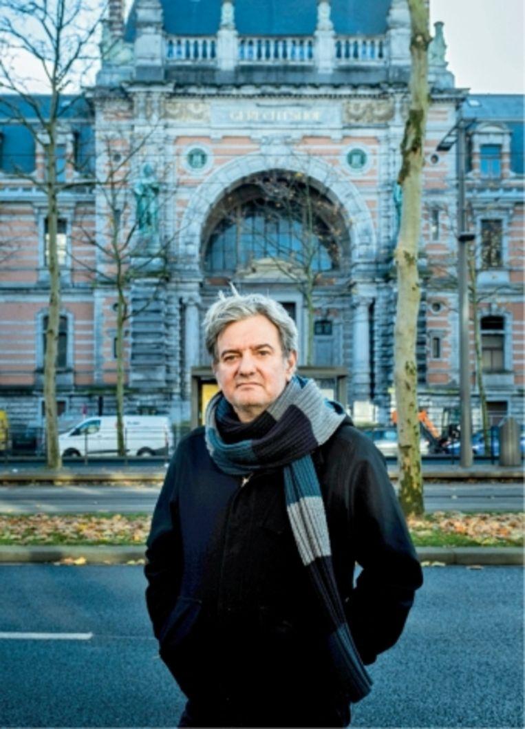 René Agten: 'Toen ik naar 'De twaalf' keek, was het alsof ik alles herbeleefde. De zwaarte kwam terug, dat gevoel van mistroostigheid dat ik tijdens al mijn processen heb ervaren.'   Beeld Wouter Van Vaerenbergh