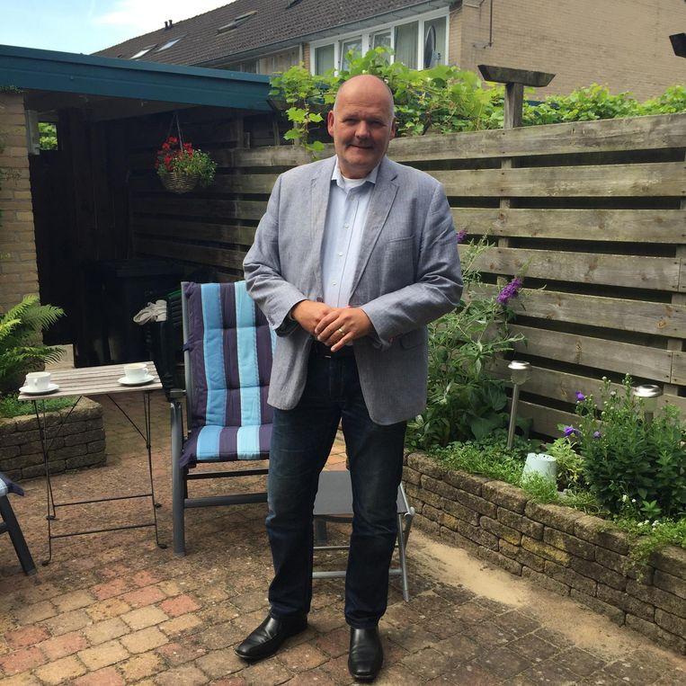 Ron Rientjes,  secretaris van de wijkraad. Beeld