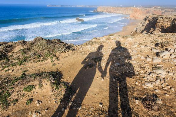 Aan de klif van Sagres gooide het koppel het wapen en ander bewijsmateriaal in zee.