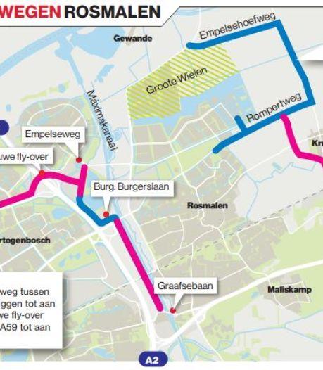 Geen enkele extra weg helpt écht tegen verkeersproblemen rond Rosmalen