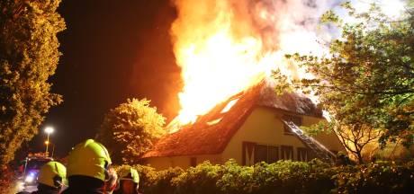 Door brand verwoeste dijkwoning Zennewijnen stond al op nominatie voor de sloop