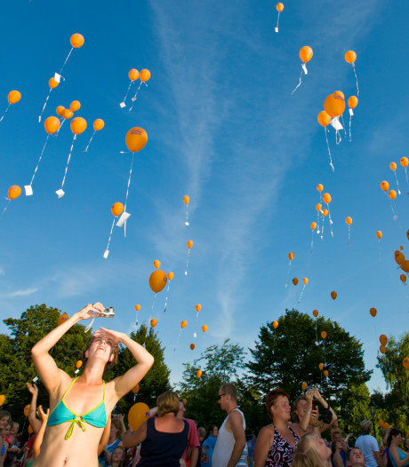 Elburg wil het oplaten van ballonnen ontmoedigen