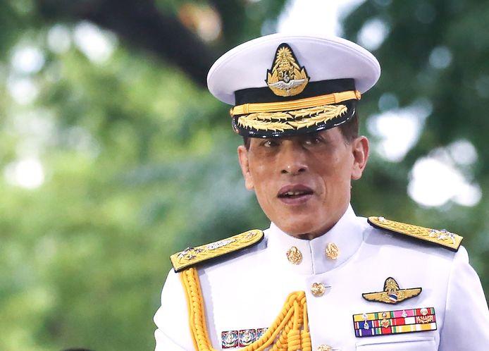 Koning Vajiralongkorn van Thailand.