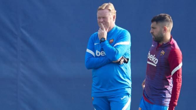 Ronald Koeman hint op Agüero-debuut en probeert kalm te blijven bij Barça: 'Maar dat is niet makkelijk'